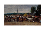 Fair in Brittany  1874