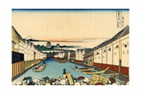 Nihonbashi Bridge in Edo  c1830