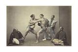 Representatives of Nio  the Japanese Hercules  1866-7