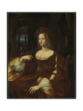 Portrait of Doña Isabel de Requesens y Enríquez de Cardona-Anglesola  c1518