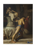 Samson and the Philistines  1863