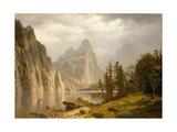 Merced River  Yosemite Valley  1866