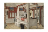 Daddy's Room  from 'A Home' series  c1895