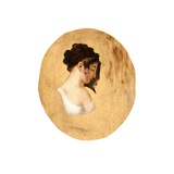 Profile of a Young Woman's Head  c1794