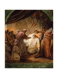 The Last Communion of Saint Louis  1823