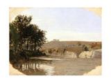 View of a Lake  1797