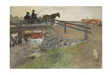 The Bridge  from 'A Home' series  c1895
