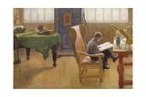 Esbjorn in the Study Corner  1912