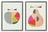 Geometric Apple Set