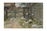 The Gate  from 'A Home' series  c1895
