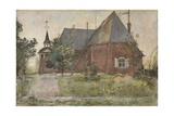 Old Sundborn Church  from 'A Home' series  c1895