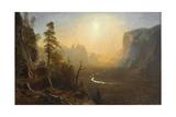 Yosemite Valley  Glacier Point Trail  c1873