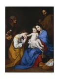 The Holy Family with Saints Anne and Catherine of Alexandria  1648