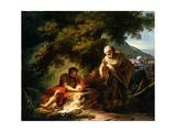 Democritus Among the Abderitans  c1790