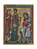 Adoration of the Magi from Psalter Ms 4  c1240
