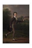 Running boy Marcus Holst von Schmidten  1802