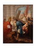 Heraclius Carrying the Cross  c1728