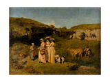 Young Ladies of the Village  1851-2