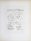 Exposition Hispano-Americaine III Reproduction pour collectionneurs par Pablo Picasso