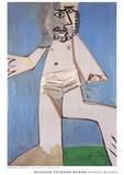 Homme Debout Reproduction d'art par Pablo Picasso