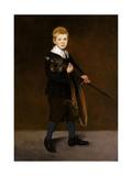 Boy with a Sword  1861