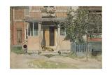 The Verandah  from 'A Home' series  c1895