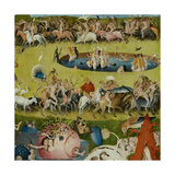 The Garden of Earthly Delights  1490-1500