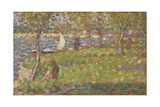 "Study for ""La Grande Jatte""  1884-5"