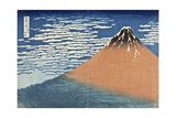 Mount Fuji in Clear Weather (also known as Red Fuji)  c1830