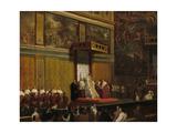 Pope Pius VII in the Sistine Chapel  1814