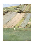 A Hillside  Giverny  1887