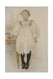 Martha Winslow as a Girl  1896