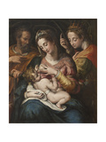 The Holy Family with St Catherine  c1600