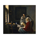 Girl Interrupted at Her Music  c1658-69