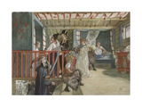 A Day of Celebration  from 'A Home' series  c1895