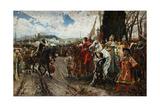 The Surrender of Granada in 1492  1882