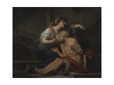 Simon and Pero  Roman Charity  c1767