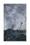 Stormy Sea Broom Buoy  1892