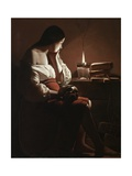 The Magdalen with the Smoking Flame  c1638-40
