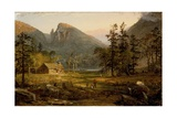 Pioneer's Home  Eagle Cliff  White Mountains 1859