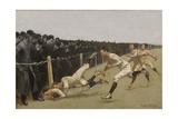 Touchdown  Yale vs Princeton  Thanksgiving Day  Nov 27  1890