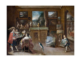 A Visit to the Art Dealer  c1625