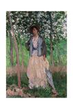 The Stroller (Suzanne Hoschedé)  1887