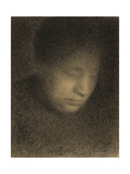 Madame Seurat  the Artist's Mother  c1882-3
