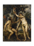Adam and Eve  1628-9