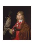 Portrait of a Boy with a Falcon