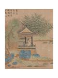 Wang Xizhi watching geese  Handscroll c1295