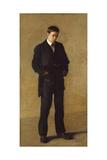The Thinker: Portrait of Louis N Kenton  1900