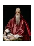 Saint Jerome as Scholar  c1610