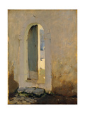 Open Doorway  Morocco  1879-80